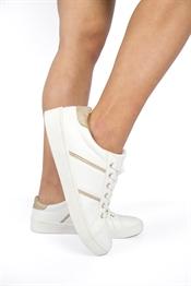 Bild på Janni Sneaker White/Gold